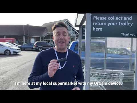 Overcoming Dyslexia: Using OrCam Read to Shop Independently