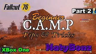 Fallout 76 C.A.M.P.  Tips and Tricks for the Beginner Part 2