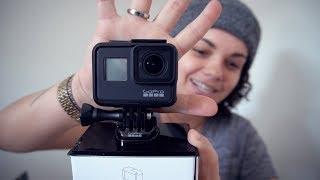 UNBOXING GoPro HERO 7 BLACK ‹ portugal ›