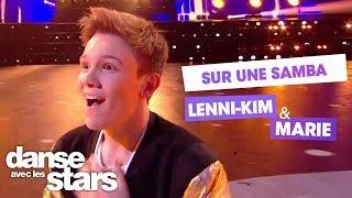 """DALS S08 - Lenni-Kim et Marie Denigot pour une samba sur """"I Want You Back"""" des Jackson Five"""