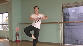 花咲先生のバレエレッスン~綺麗なピルエットを回るために④~首の使い方~のサムネイル画像
