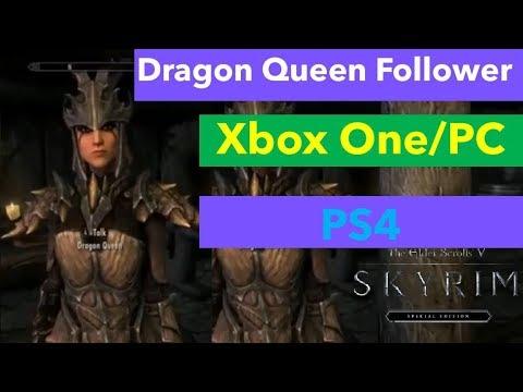 Skyrim Mods: The Huntress Tania Follower (PS4/XBOX1/PC) - смотреть