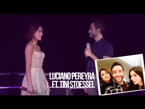 Luciano Pereyra video Tu dolor (ft Tini Stoessel) - Luna Park 2016
