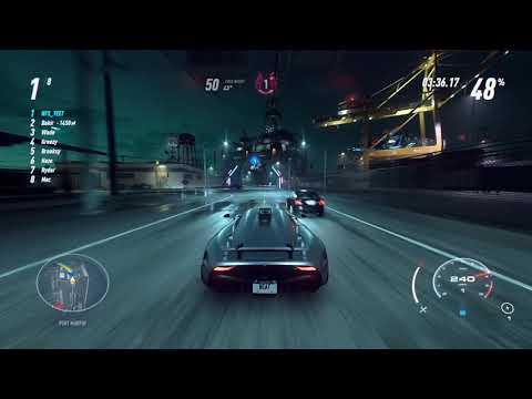 Need For Speed Heat - The Longest Race In The Game w/ Koenigsegg Regera