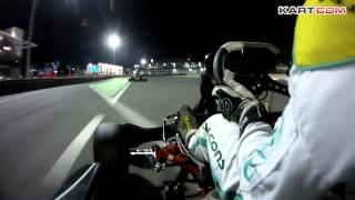 preview picture of video 'Bahrain Karting on board camera with Abdulla Al-Thawadi'