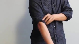 Cách xắn tay áo thật đỉnh
