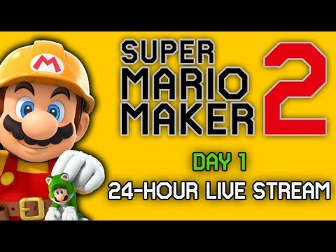 Download 2 Hours Of Super Mario Maker 2 Gameplay Streaming The Aust