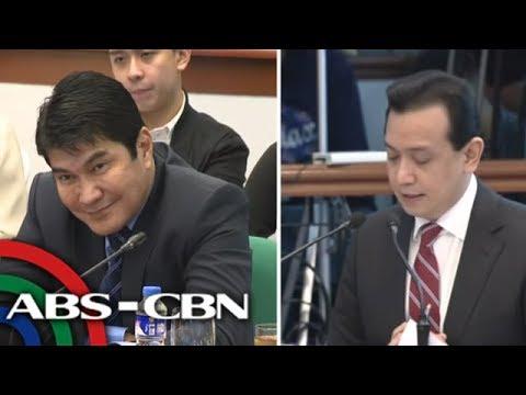 [ABS-CBN]  ANC Live: Trillanes warns Tulfos: 'Pasok na pasok kayo sa bitag' 3