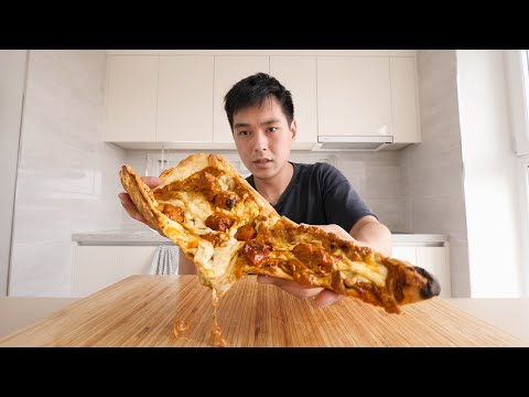 Intense Indian Curry Pizza?