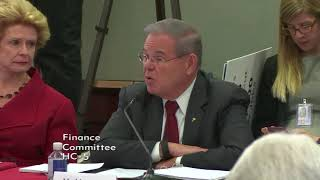 Menendez Opening Statement at GOP Tax plan Conference Commmittee hearing