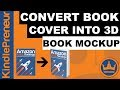 3D Book Cover - 3 Ways You Can Create a 3D Book Cover (free and paid)