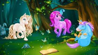 Мультик про лошадок. Мультфильмы для девочек. Детские мультики про животных