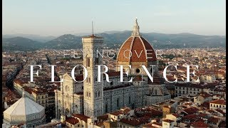 FLYING OVER FLORENCE (4K Aerial Film)