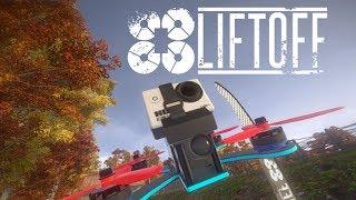 SIMULADOR de DRONE - LIFTOFF Gameplay
