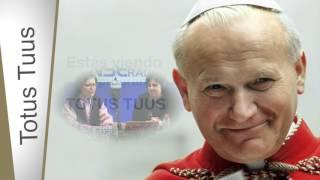 En Perú te queremos Juan Pablo II - TOTUS TUUS