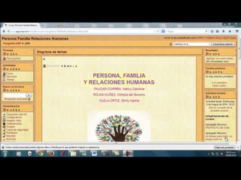 BIENVENIDA AL CURSO PERSONA, FAMILIA Y RELACIONES HUMANAS