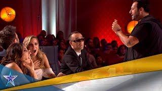 EDURNE da su PASE de ORO al MEJOR MAGO del programa   Audiciones 6   Got Talent España 5 (2019)