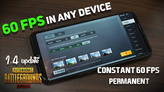 GET 60FPS IN PUBG MOBILE WITHOUT GFX TOOL | HOW TO UNLOCK 60FPS IN PUBG MOBILE