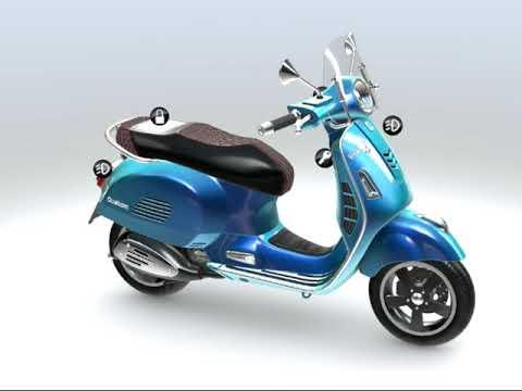 Thiết kế xe máy 3D