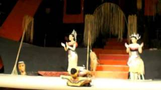 Iban Dance Ngajat Lesong At Sarawak Cultural Village