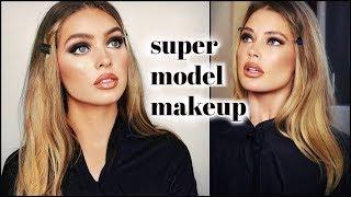 doutzen kroes 90s SUPERMODEL makeup tutorial!