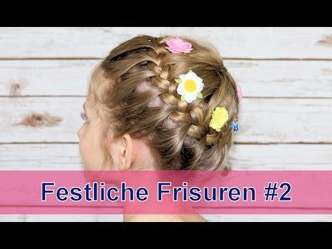 Festliche Frisuren #2, Oktoberfest, Hochzeit, Blumenmädchen, Kommunion, Konfirmation, ...
