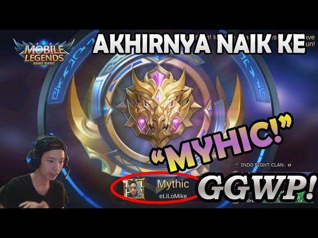 NAIK KE MYTHIC ? GAMPANG SEKALI KALO KAYAK BEGINI!! MOBILE LEGENDS INDONESIA