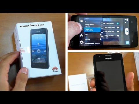 Huawei Ascend G525 Unboxing & Hands-On
