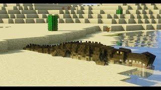 Minecraft   Khủng Long #16: Hồi Sinh Bé Cá Sấu Huyền Thoại !!