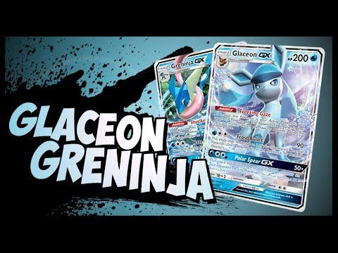 Glaceon GX / Greninja GX – Pokemon TCG Online Gameplay