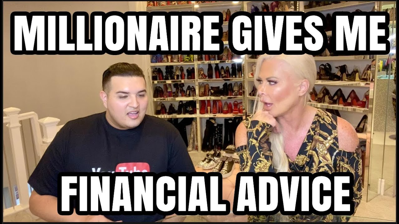 Millionaire Gives Me Financial Advice