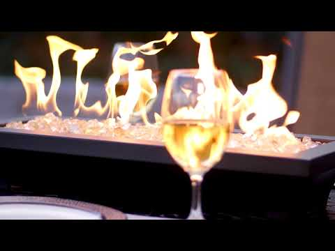 Lavelle Table-Top Fire Pit - Black