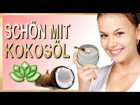 Kokosöl für die Haare