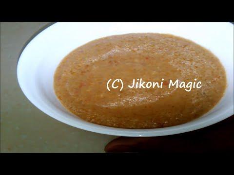 African Peanut Sauce Recipe- Basic Peanut sauce – Jikoni Magic