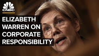 Sen. Elizabeth Warren On Making Companies Accountable To Employees | CNBC