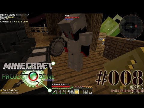 Aufzüge und Bratpfanne des Todes ★ #8 ★ We Play Minecraft Modded Project Ozone 2 Reloaded [HD|60FPS]