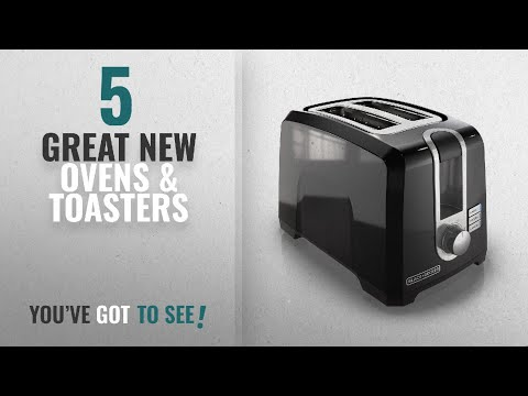 Top 10 Black+Decker Ovens & Toasters [2018]: BLACK+DECKER 2-Slice Extra-Wide Slot Toaster, Square,