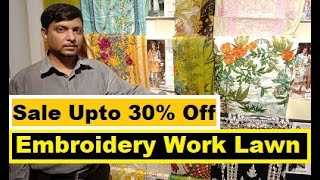 Original Ittehad Embroidery Work Lawn Dresses Sale Upto 30% Off & New Arrival 2020