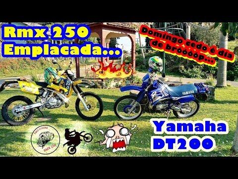 Suzuki RMX 250 de Rua | Yamaha DT 200 | Ronco insano | Motocas invocadas...