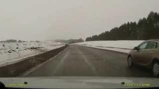 Slow drivers - a nausea. Тошноты на дорогах