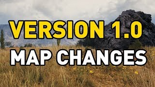Map Changes in World of Tanks 1.0