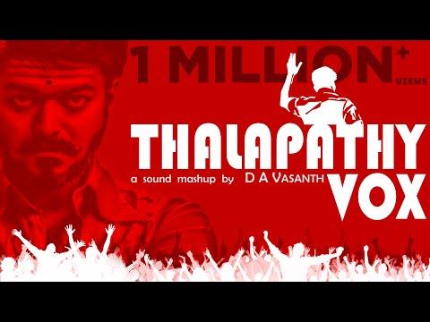 Thalapathy Vox   Thalapathy sound mashup   Vijay Mashup   Isaipettai