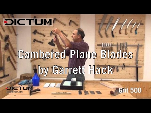 Sharpening with Garrett Hack - Cambered Plane Blades
