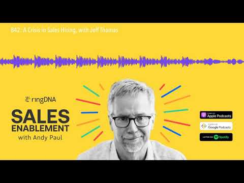 , title : '842: A Crisis in Sales Hiring, with Jeff Thomas