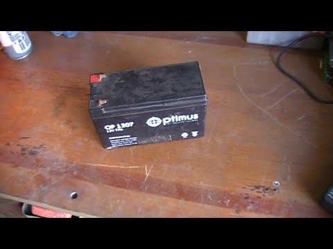 Зарядка AGM аккумулятор обычной зарядкой