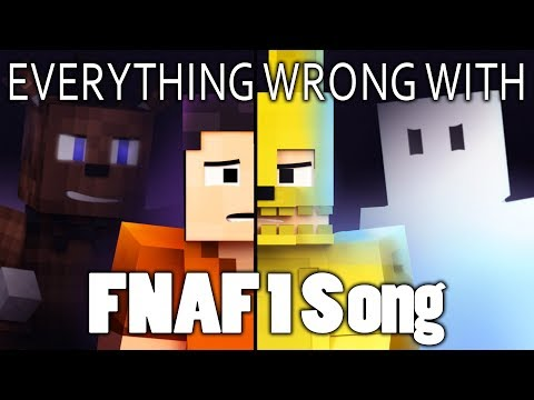 Everything Wrong With FIVE NIGHTS AT FREDDY'S 1 SONG (Afton Pt. 3) In 10 Minutes Or Less