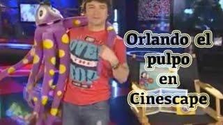 Cinescape con Orlando el pulpo valiente - Bruno Pinasco