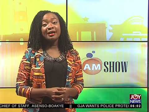 AM Show Intro on JoyNews ( 1-6-18)