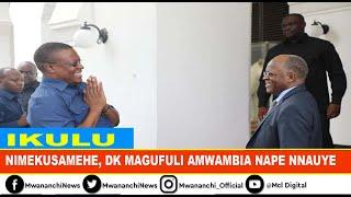 VIDEO: Nape Nnauye amuomba msamaha Rais Magufuli
