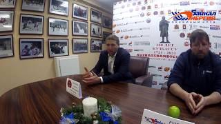 Пресс-конференция А. Рушкина и А. Китькова